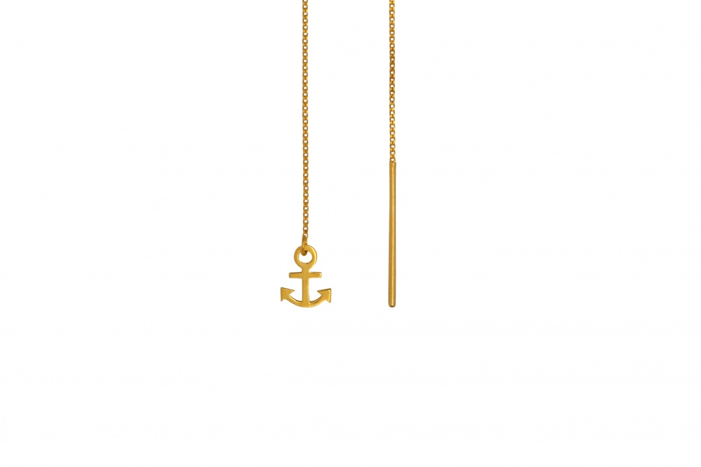 LULU Anchor ear chain