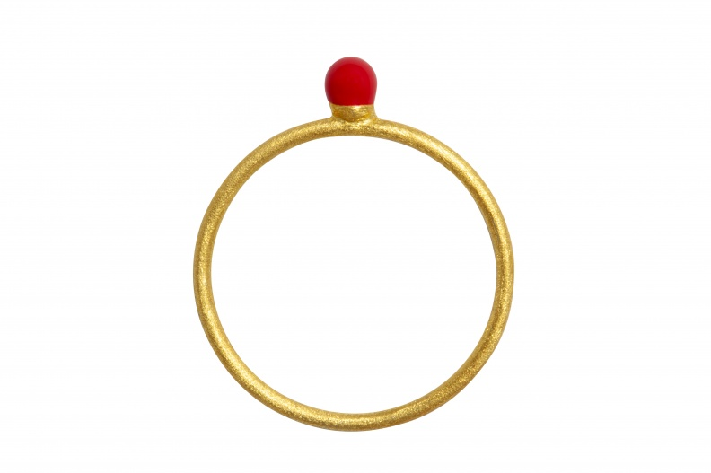LULU_RingParty_Ball_pink_gold_brushed_front.jpg